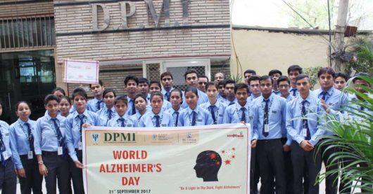 विश्व अल्जाइमर दिवस पर DPMI ने निकाली रैली