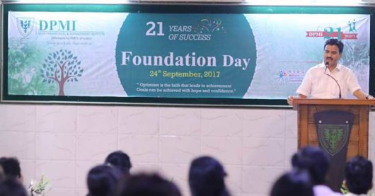 DPMI Celebrates its 21st Foundation Day