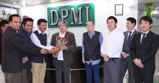 Japanese Delegate organize placement drive in DPMI