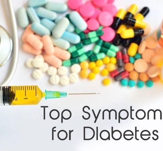 Top Symptoms for Diabetes