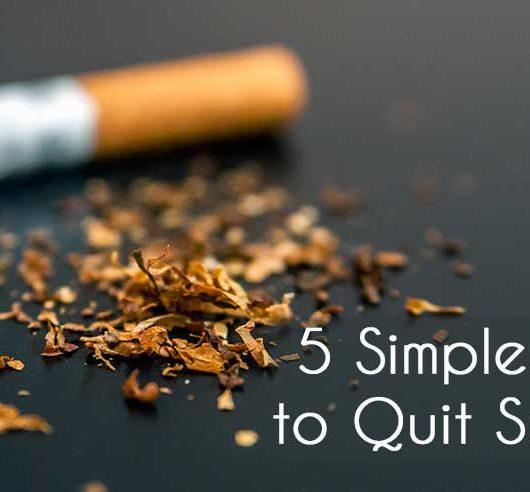 5 Simple Ways to Quit Smoking